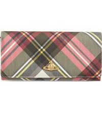 Vivienne Westwood Check Derby Wallet New Exhibition
