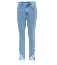 Mih Jeans Mimi High Waisted Skinny Blue