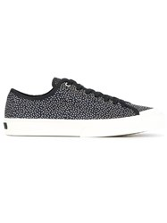 Paul Smith Ps By Micro Print Sneakers Blue