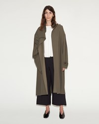 Christophe Lemaire Overcoat Grey