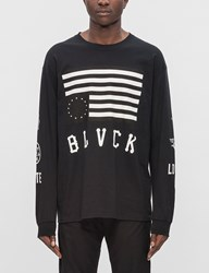 Black Scale Hate Love L S T Shirt