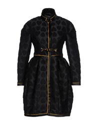 Aquilano Rimondi Overcoats Black