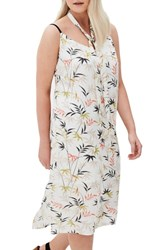Elvi Plus Size The Umami Slip Dress With Neckerchief Multi