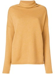 Antonia Zander Amy Sweater Yellow And Orange