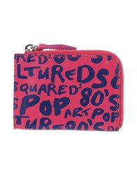 Dsquared2 Document Holders Fuchsia
