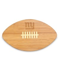 Picnic Time New York Giants Ball Shaped Cutting Board Burlywood