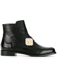 Emporio Armani Ankle Boots Calf Leather Leather Black