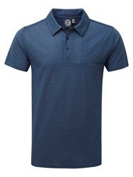Tog 24 Volta Mens Dri Release Polo Shirt French Navy
