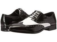 Stacy Adams Tinsley Black White Men's Lace Up Casual Shoes