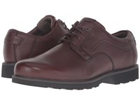 Dunham Revdusk Brown Smooth Men's Lace Up Casual Shoes