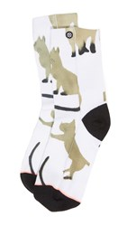 Stance The Anklet Cats Sock White