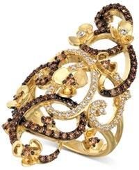 Le Vian Chocolatier Diamond Ring 1 1 6 Ct. T.W. In 14K Gold Yellow Gold