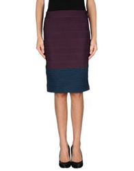 Boy By Band Of Outsiders Knee Length Skirts Mauve