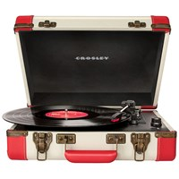 Crosley Executive Usb Turntable Red White