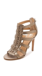 Joe's Jeans Pearce Caged Sandals Champagne Nickel