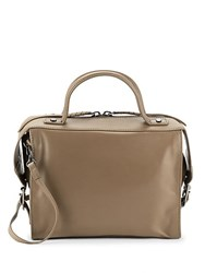 Kooba Bristol Leather Satchel Brindle