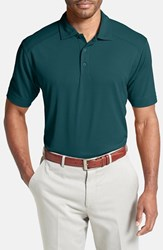 Men's Big And Tall Cutter And Buck 'Genre' Drytec Moisture Wicking Polo Midnight Green