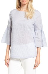 Nordstrom Women's Collection Bell Sleeve Tie Back Top