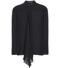Etro Silk Chiffon Blouse Black