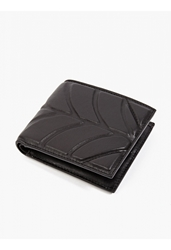 Alexander Wang Men's Black Leather Wallie' Wallet