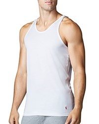 Polo Ralph Lauren Supreme Comfort Tank Top Pack Of 2 White