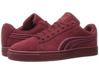 Puma Suede Classic Badge Cabernet Men's Shoes Burgundy