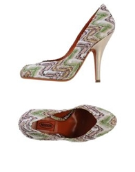 Missoni Pumps White