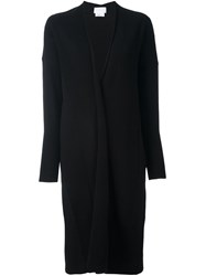 Dkny Open Front Cardi Coat Black