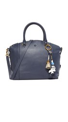 Tory Burch Gift Giving Satchel Tory Navy