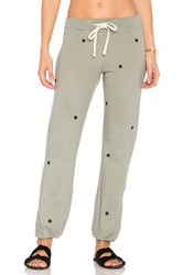 Sundry Star Patches Sweatpant Gray