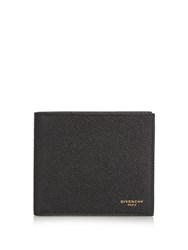 Givenchy Eros Grained Leather Wallet Black