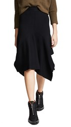 Edition10 Knitted Skirt Black