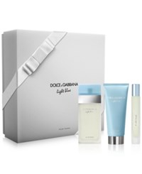 Dolce And Gabbana 3 Pc. Light Blue Gift Set No Color