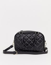 Juicy Couture Black Label Norwood Quilted Boxy Bowler