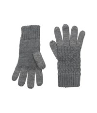 Hat Attack Smart Glove Charcoal Dress Gloves Gray