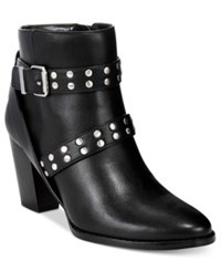 Styleandco. Style Co. Betzie Buckle Booties Only At Macy's Women's Shoes Black