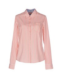 Tommy Hilfiger Denim Shirts Shirts Women Coral
