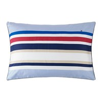 Tommy Hilfiger Colourful Stripes Pillowcase Sky 50X75cm