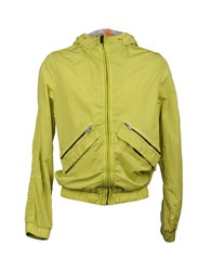 Fred Mello Coats And Jackets Jackets Men Acid Green