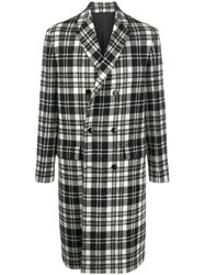 Oamc Boxy Fit Checked Coat 60