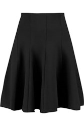 Mcq By Alexander Mcqueen Pleated Stretch Jersey Mini Skirt Black