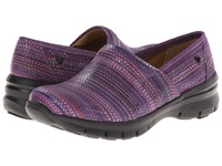 Nurse Mates Libby Fiesta Purple Women's Clog Shoes