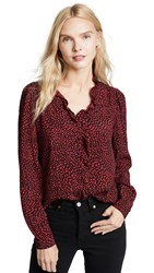 Rolla's Lily Blouse Wild Print