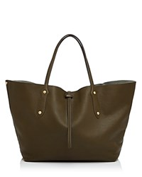 Annabel Ingall Isabella Large Leather Tote Military Gold