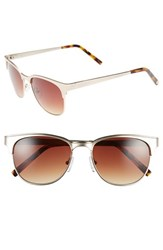 Women's Vince Camuto 55Mm Metal Sunglasses Gold