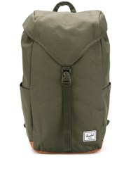 Herschel Supply Co. Thompson Logo Patch Backpack Green