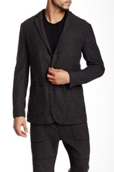 Shades Of Grey Knit Blazer Black