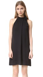 Theory Espere Halter Dress Black