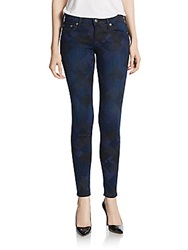 True Religion Casey Low Rise Super Skinny Jeans Blue