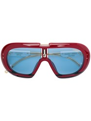 Carrera Oversized Limited Edition Sunglasses Red